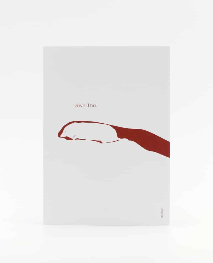 Drive-Thru Postkarte zur Motivation für Prüfungen