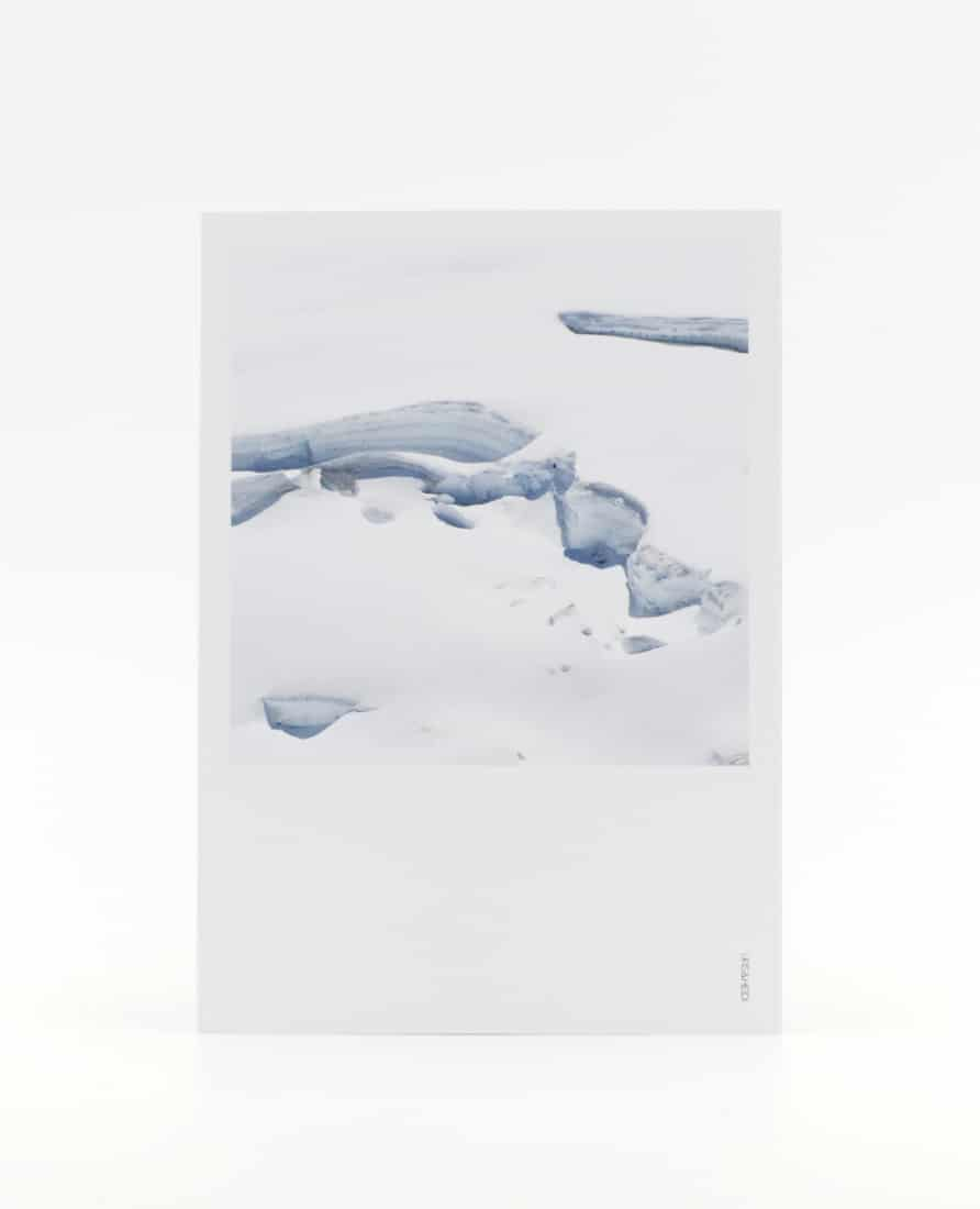 Postkarte Gletscher
