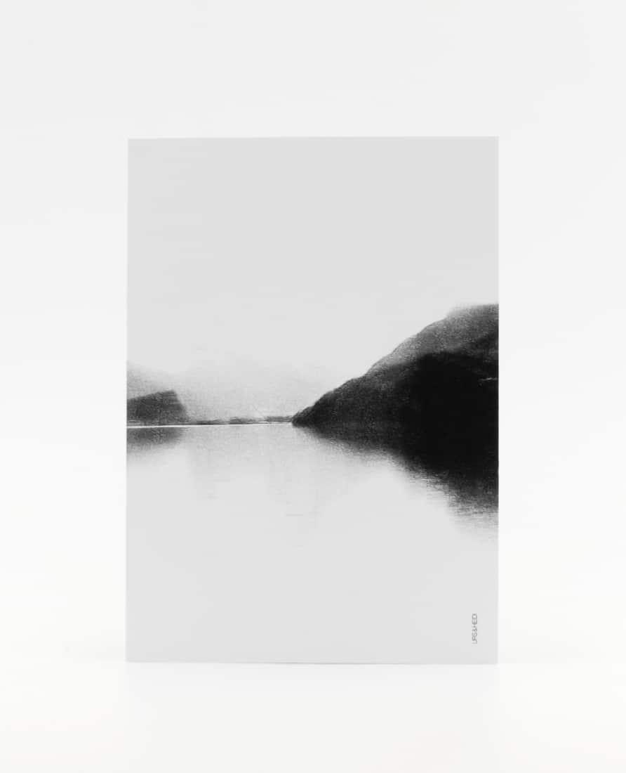Postkarte Nebelsee