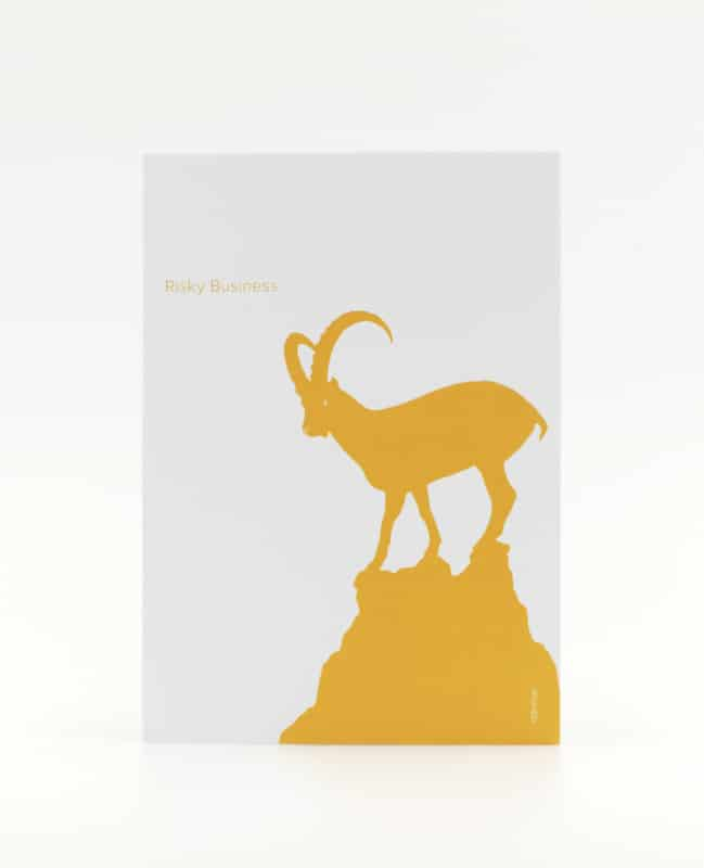 Risky Business Postkarten für Gipfeltreffen