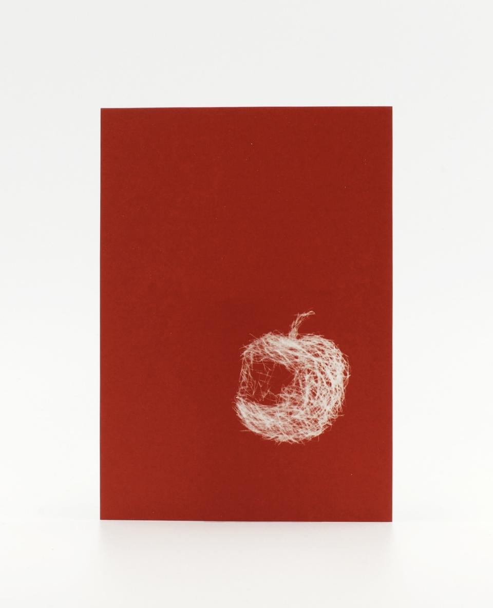 Schneewittchen, die Postkarte mit Biss