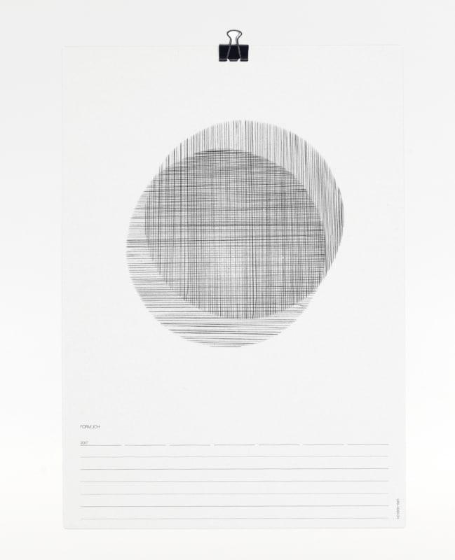Förmlich Kalender 2017 - Titelblatt