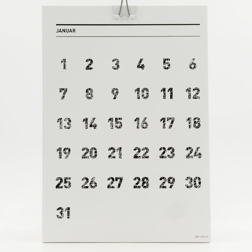 365 Geburtstags- und Jubiläumskalender – Januar