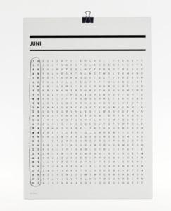 365 Kalender 2017 - Juni