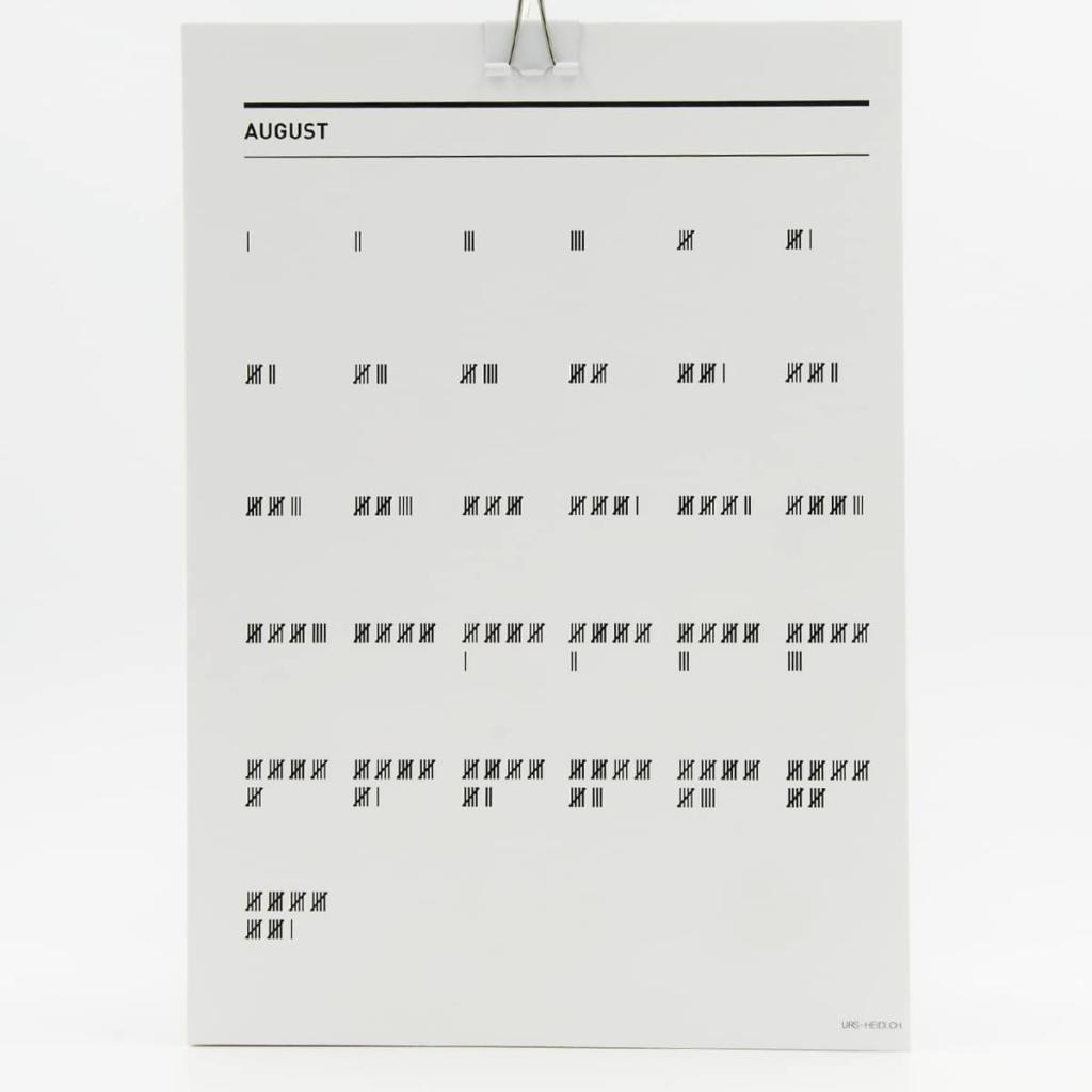 365 Geburtstags- und Jubiläumskalender – August