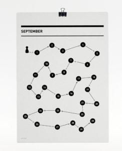 365 Kalender 2017 - September