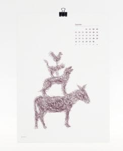 Märchen Kalender 2017 - Bremer Stadtmusikanten
