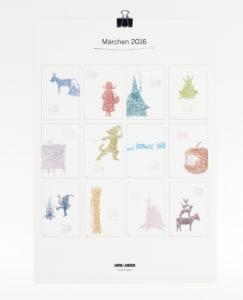 Märchen Kalender 2017 - Ein märchenhaftes Jahr