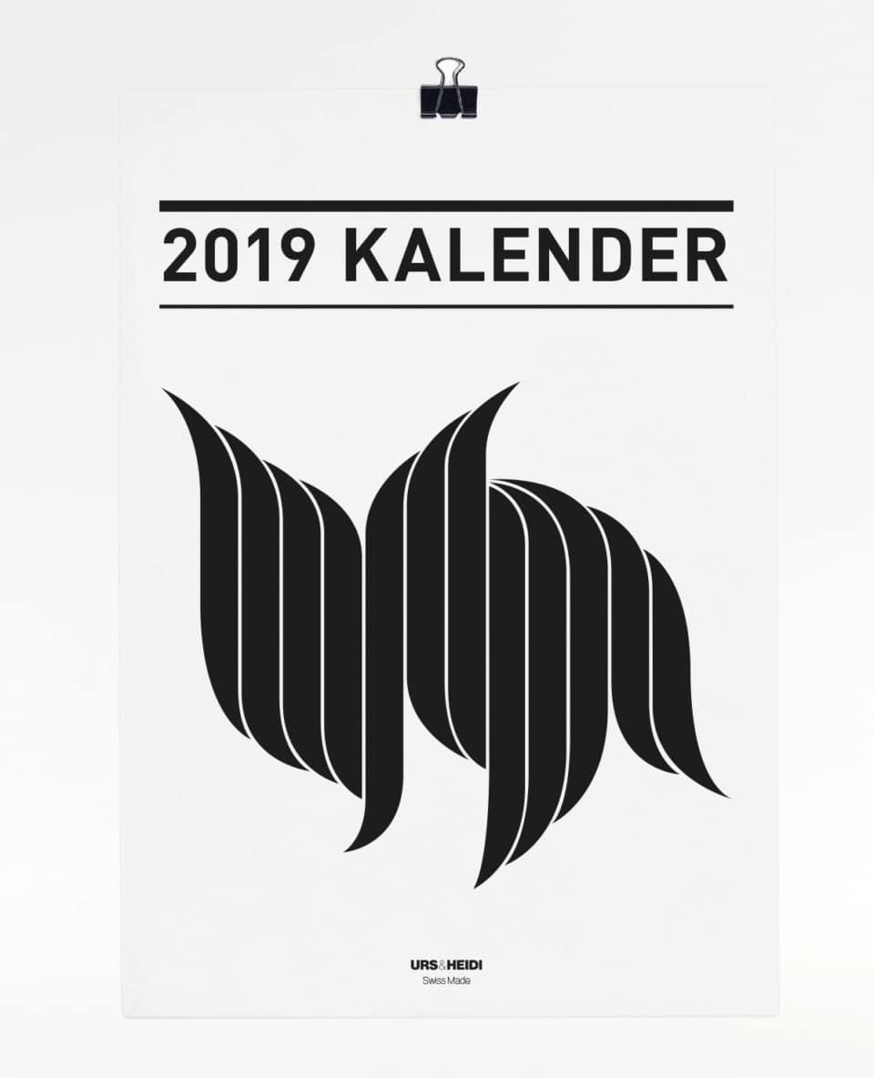 Kalender Jahr 2019 365 Tage