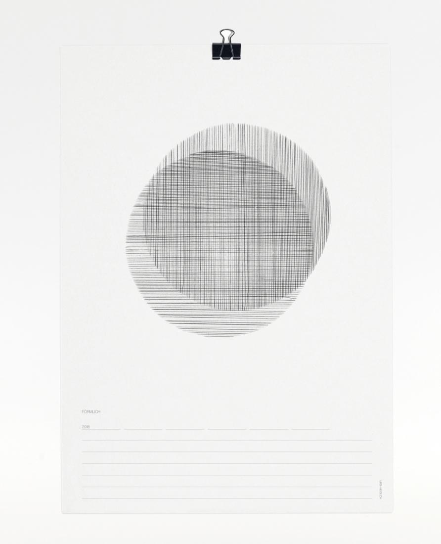 Förmlich Kalender 2018 - Titelblatt