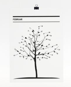 365 Kalender 2018 - Februar