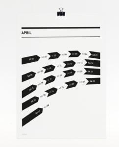 365 Kalender 2018 - April