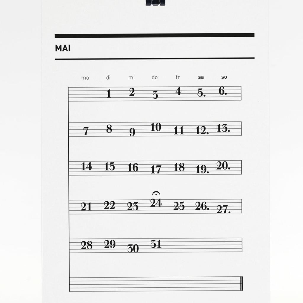 365 Kalender 2018 - Mai