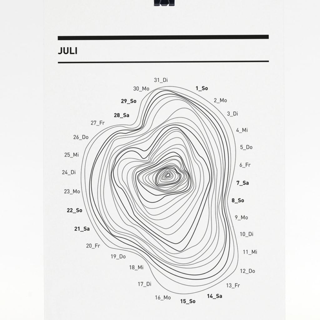365 Kalender 2018 - Juli